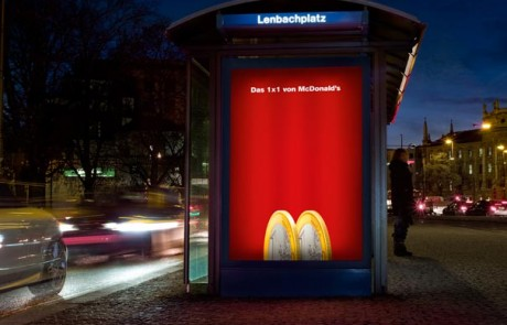 creative use of the mcdonalds logo design